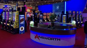 ainsworth novomatic stands à un salon professionnel